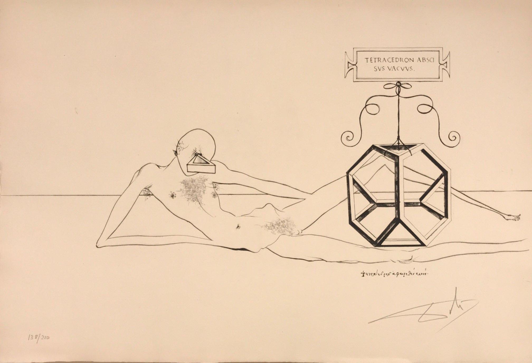 immortalité tétraédrique du cube