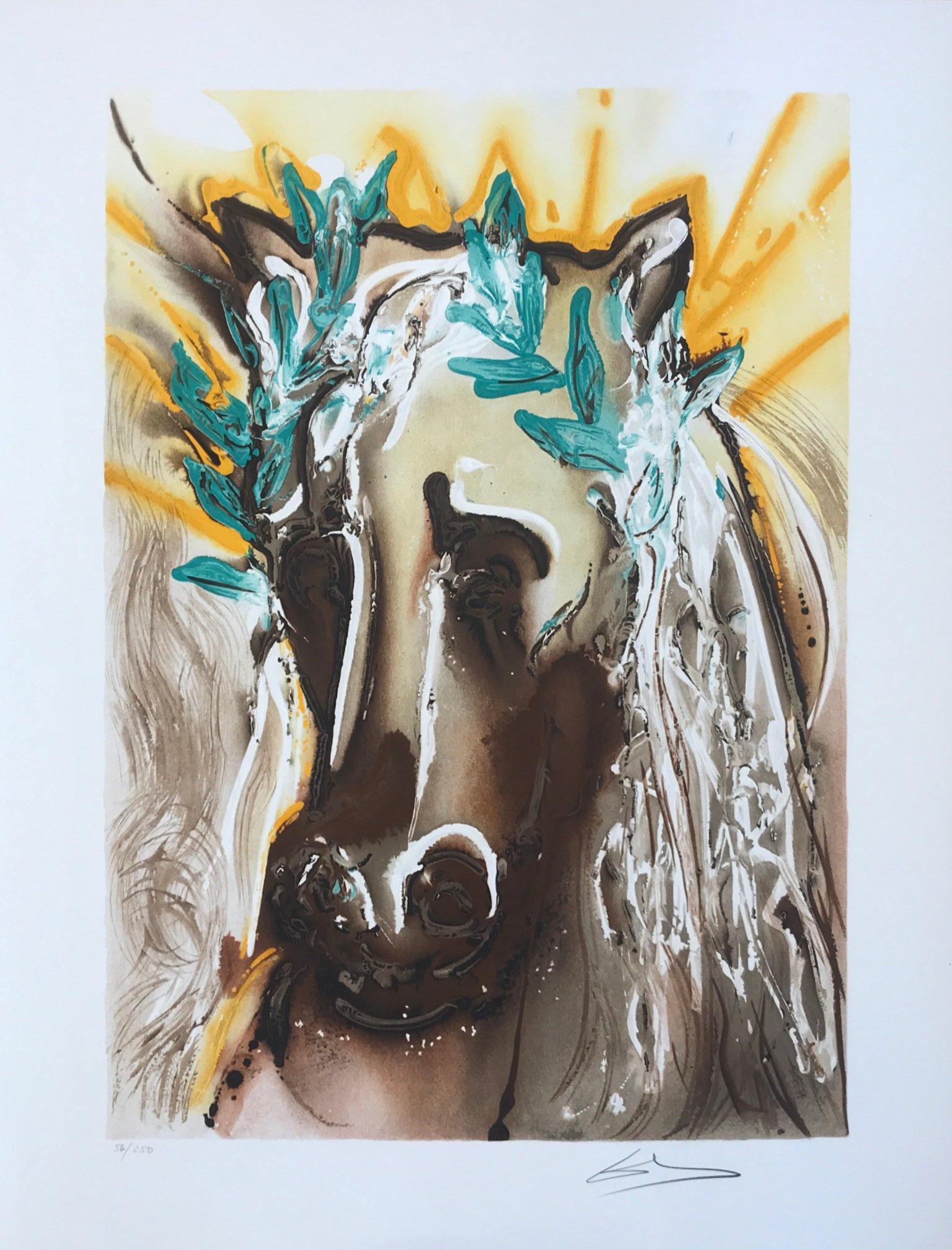 cheval de printemps - dali