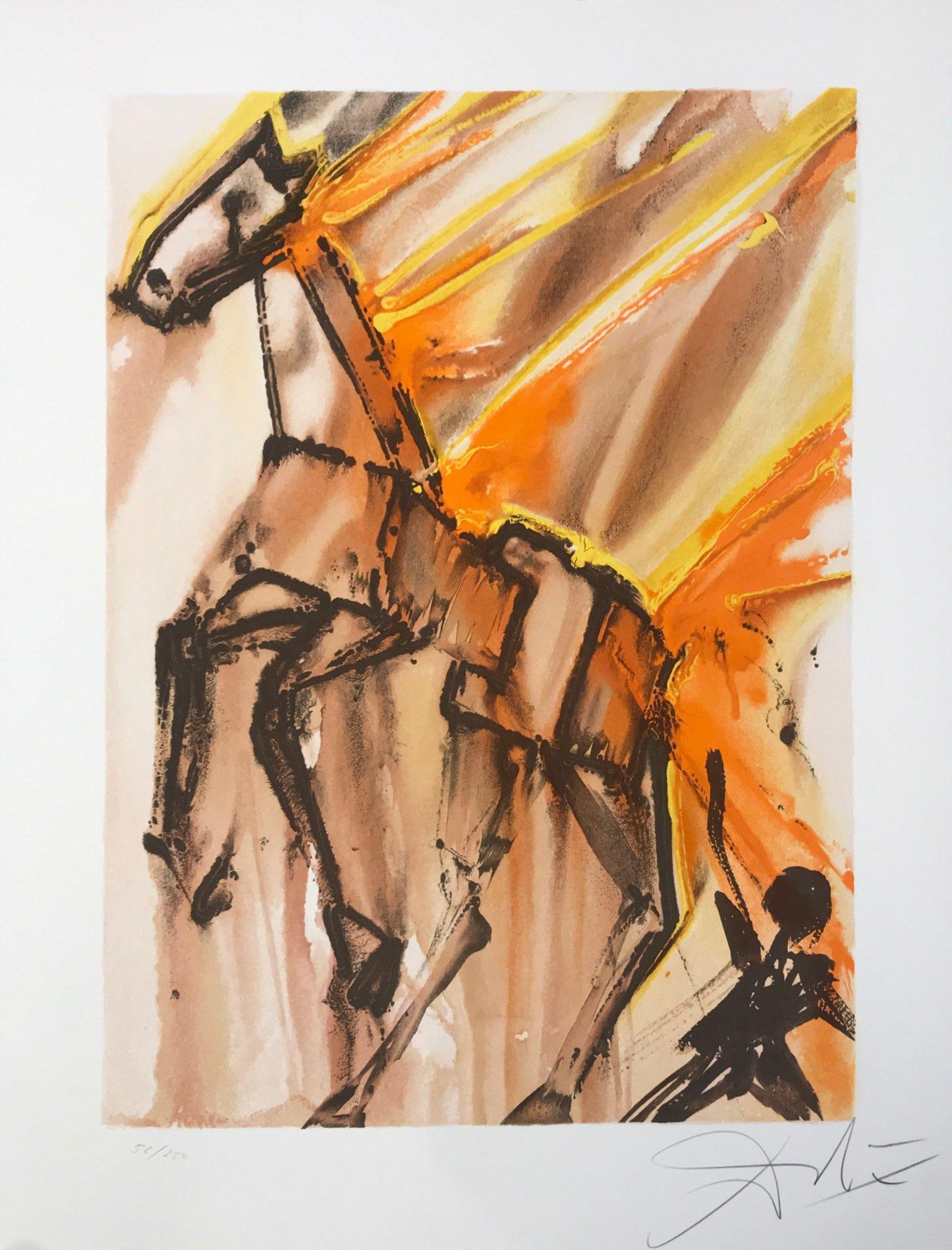 Calilegnio cavileno salvador dali cheval