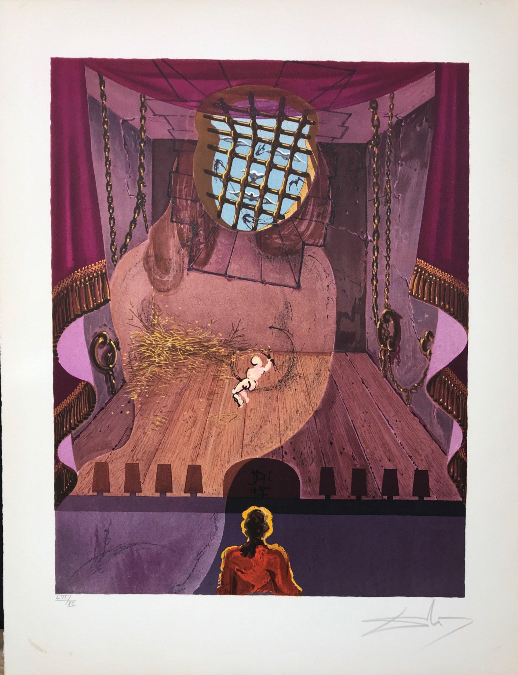 Damis Duval Prison Marquis de sade Dali