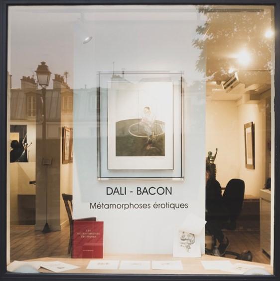 dali bacon exposition métamorphoses erotiques