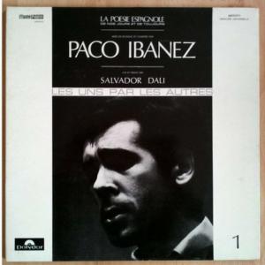Pochette du disque de Paco Ibanez faite par Dali