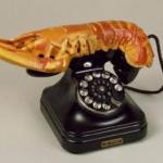 Téléphone homard dali