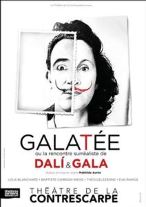 galatée ou la rencontre surréaliste de dali et de gala affiche