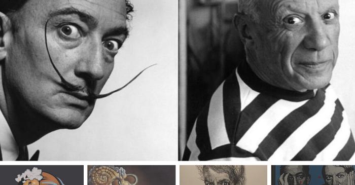 Couverture Dali Picasso