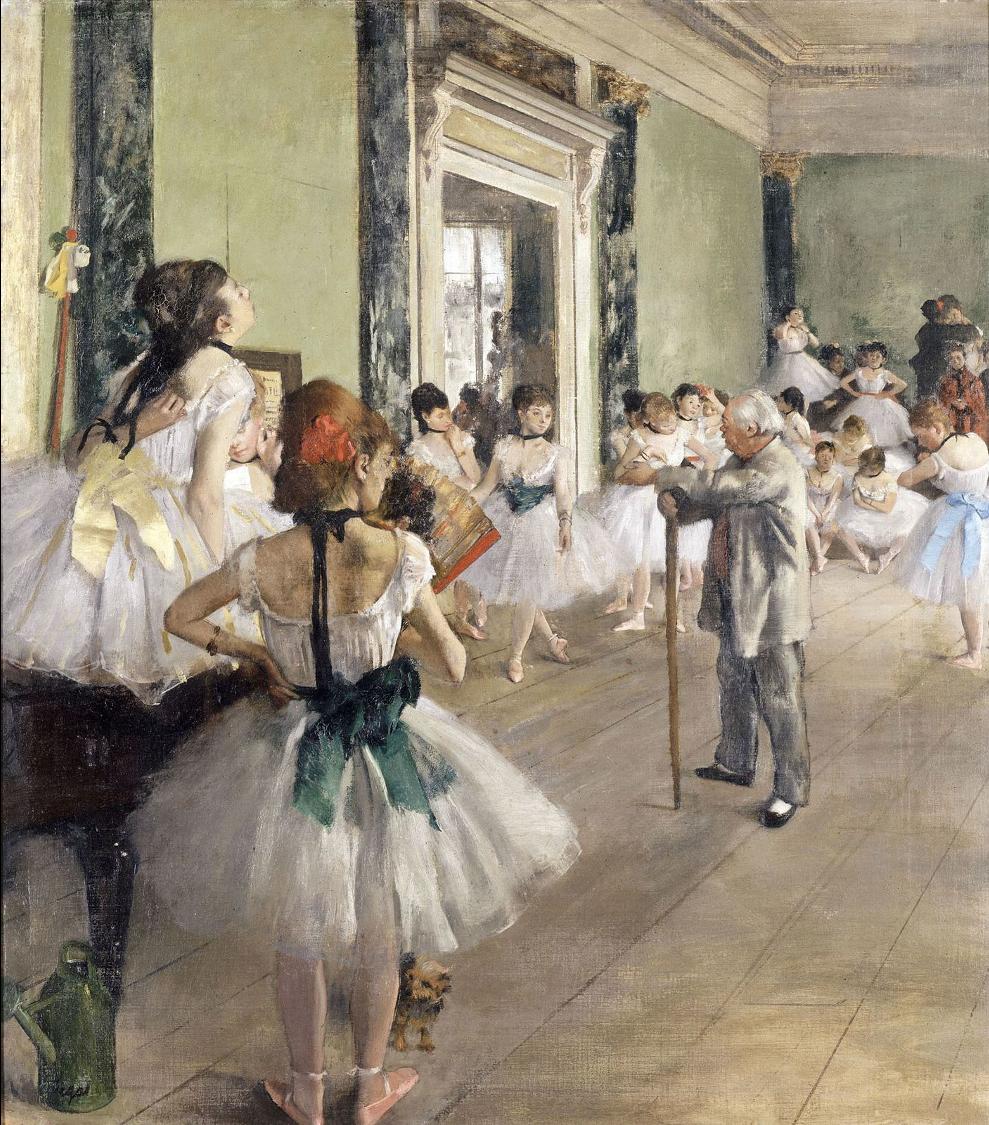 La classe de Danse - Edgar Degas