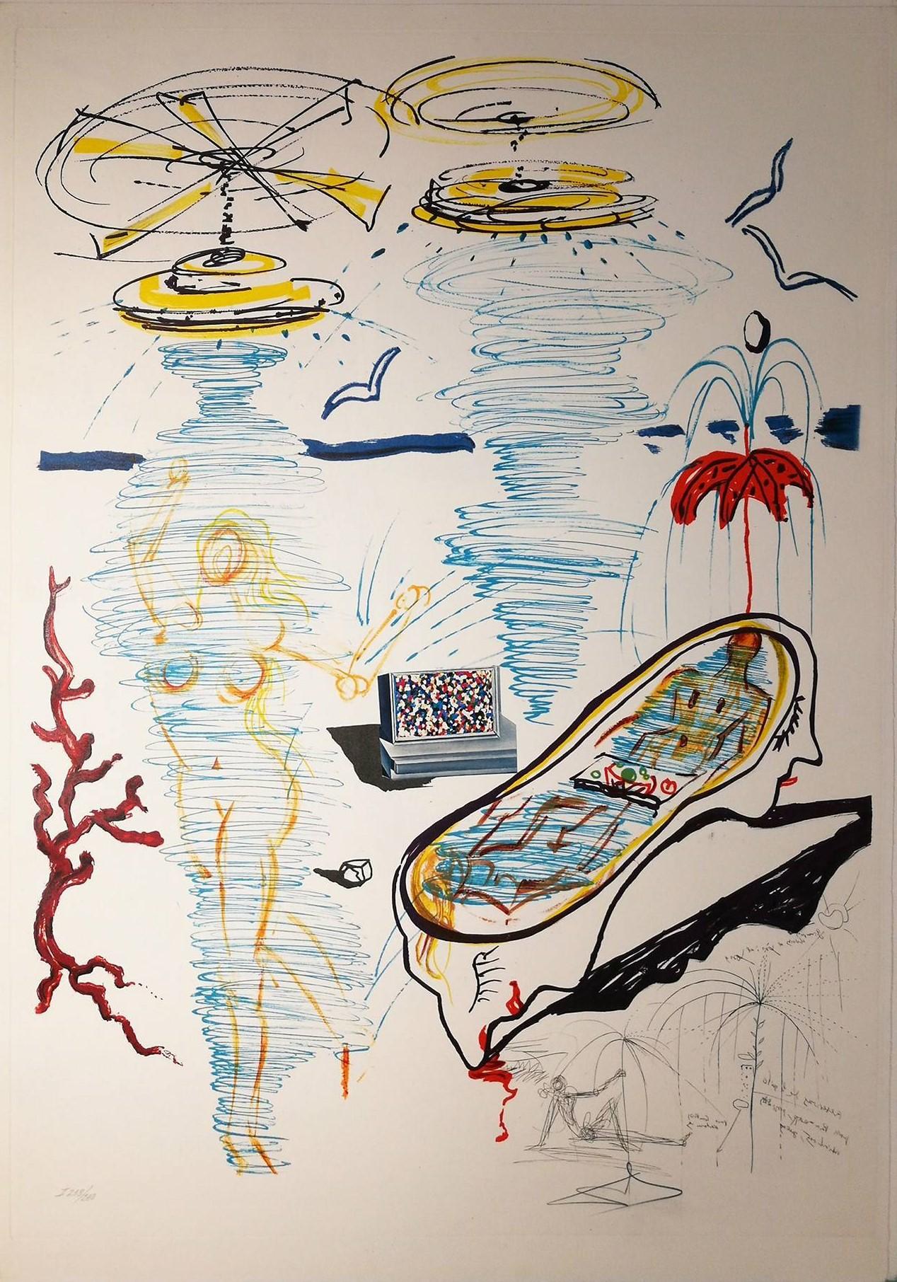 Liquid tornado bath tub imaginations et objets du futur dali